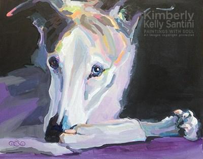 """Austin"" original fine art by Kimberly Santini"