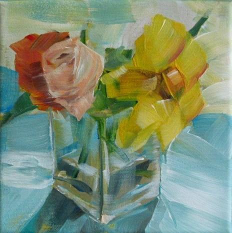 """Summers End"" original fine art by Sabine Hüning"