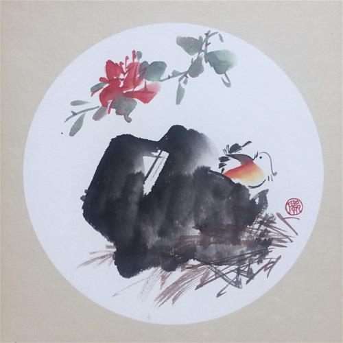 """Repose"" original fine art by R kwong"