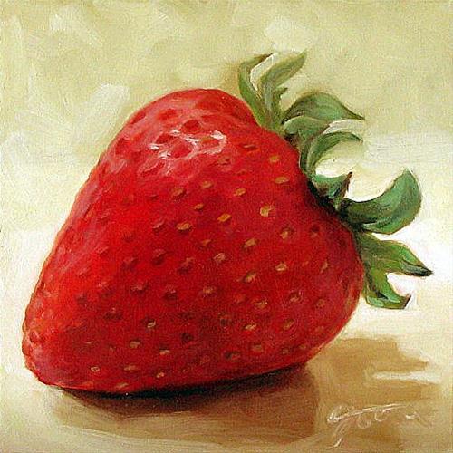 """Berry Cute"" original fine art by Joanna Bingham"
