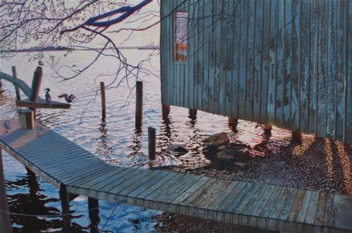 """Untitled"" original fine art by Alan Mintz"