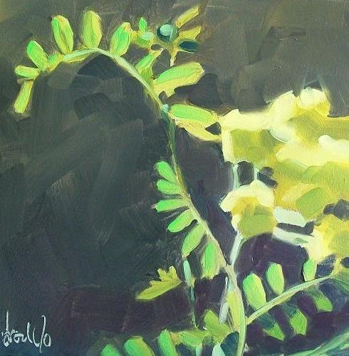 """Yellowgreen"" original fine art by Brandi Bowman"