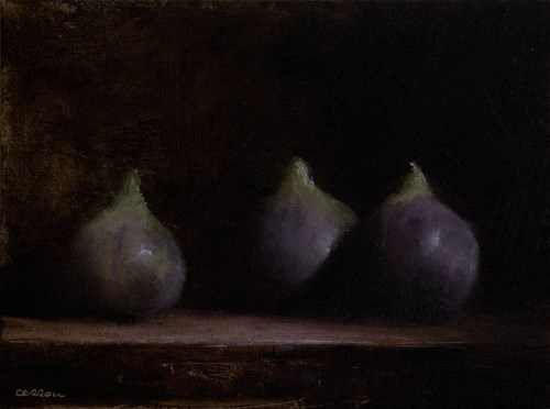 """Figs"" original fine art by Neil Carroll"