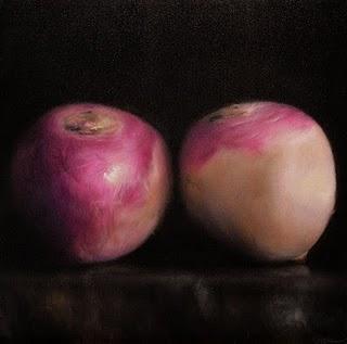 """""""Turnips"""" original fine art by Jonathan Aller"""