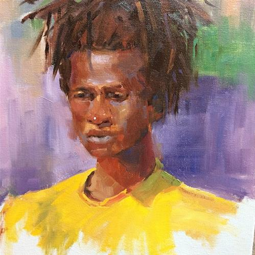 """Figure #2"" original fine art by Deborah Newman"
