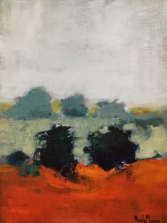 """october on sims mesa"" original fine art by Pamela Munger"