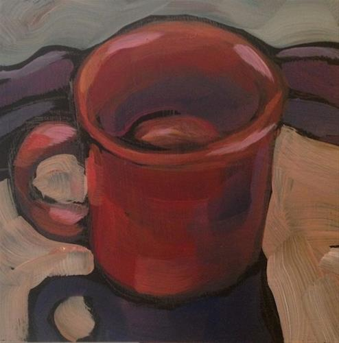 """King's Chilli Mug"" original fine art by Kat Corrigan"