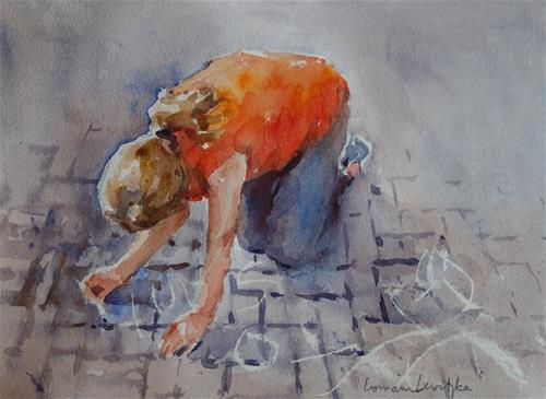 """Creative"" original fine art by Lorraine Lewitzka"