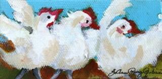 """Hissy Fit"" original fine art by JoAnne Perez Robinson"