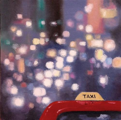 """""""NEW YORK #2"""" original fine art by Gerald Schwartz"""