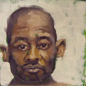 """""""FACE-IT.  #10"""" original fine art by Helen Cooper"""