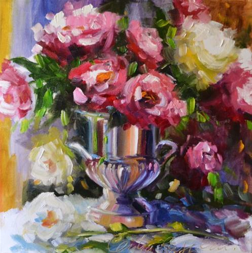 """""""URN REFLECTIONS"""" original fine art by Cecilia Rosslee"""