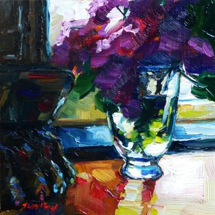 """Sunbeam"" original fine art by Jurij Frey"