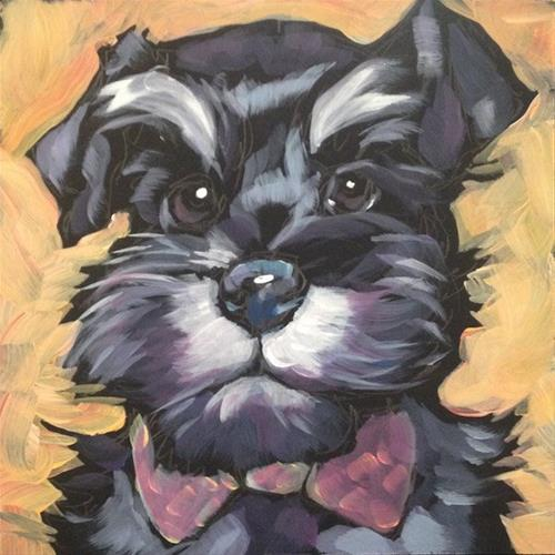 """July 11, Gus!"" original fine art by Kat Corrigan"