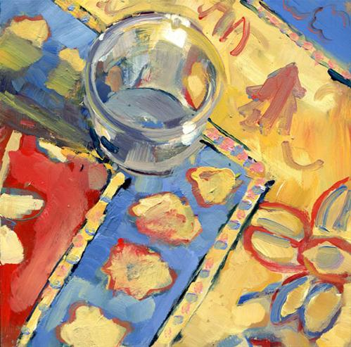 """""""Magic Jam Jar"""" original fine art by Lisa Daria"""