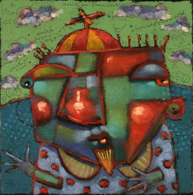 """Chumpy"" original fine art by Brenda York"