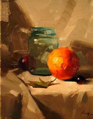 """""""Demo at Mississippi 2 --- Sold"""" original fine art by Qiang Huang"""