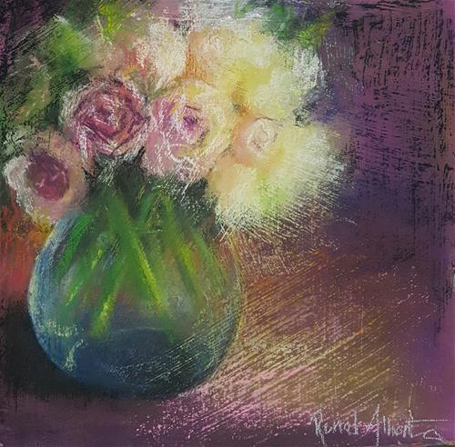 """BIRTHDAY BUNCH"" original fine art by Ronel Alberts"