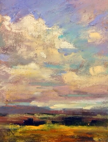 """Workshop Report Day 1...Liz Haywood-Sullivan"" original fine art by Karen Margulis"
