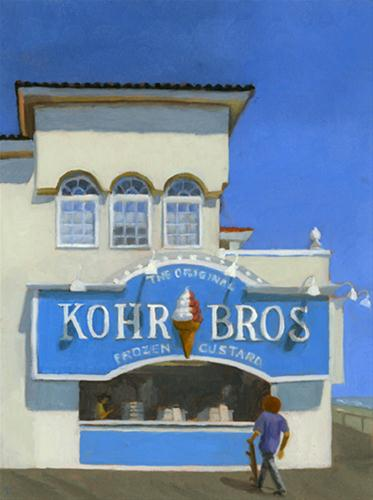 """KOHR BROTHERS"" original fine art by Nancy Herman"
