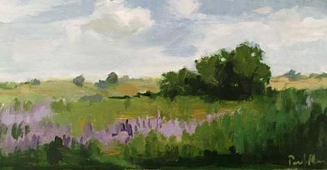 """wild lavender"" original fine art by Pamela Munger"