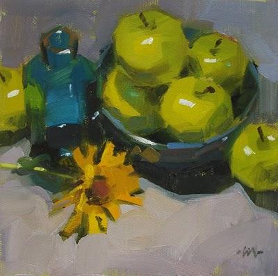 """""""Royal Procession"""" original fine art by Carol Marine"""
