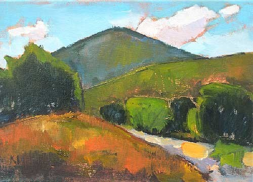 """Laguna Canyon"" original fine art by Kevin Inman"