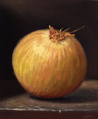 """Onion"" original fine art by Abbey Ryan"