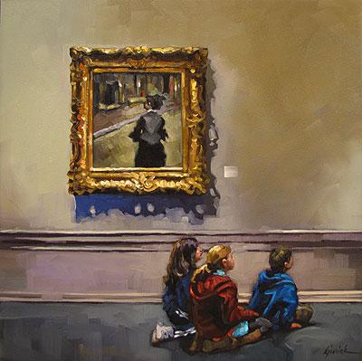 """""""Either Way"""" original fine art by Karin Jurick"""