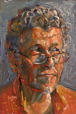 """""""John Alcantara"""" original fine art by Raymond Logan"""