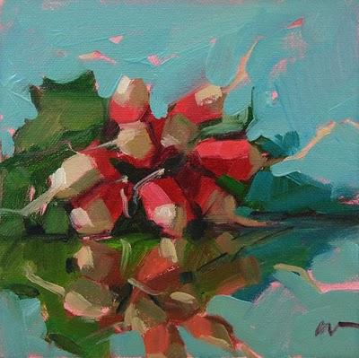 """Rad Reflections --- SOLD"" original fine art by Carol Marine"
