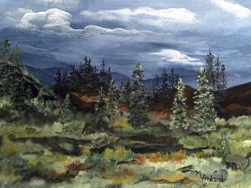 """Colorado Landscape Art Painting Colorado Skies by Mary Arneson Art-Works of Whimsy"" original fine art by Mary Arneson"