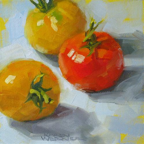 """Home Grown"" original fine art by Karen Werner"
