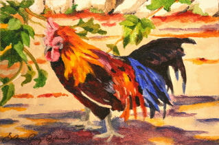 """In His Sunday Best"" original fine art by JoAnne Perez Robinson"