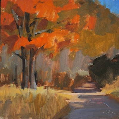 """Fall Colors"" original fine art by Carol Marine"