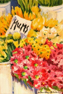 """Mum's Day"" original fine art by Joanne Perez Robinson"