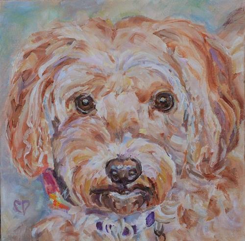 """Pooh Bear"" original fine art by Carol DeMumbrum"
