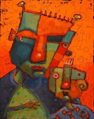 """No Strings Attached"" original fine art by Brenda York"