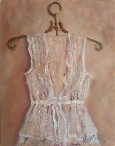 """""""DELICATE LACE"""" original fine art by Ronel Alberts"""