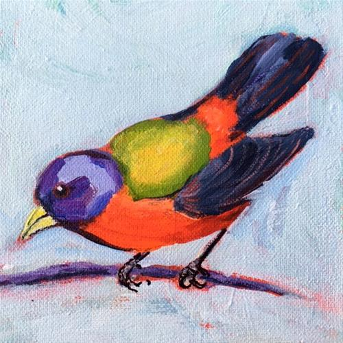 """Show Off"" original fine art by Sharon Catlege"
