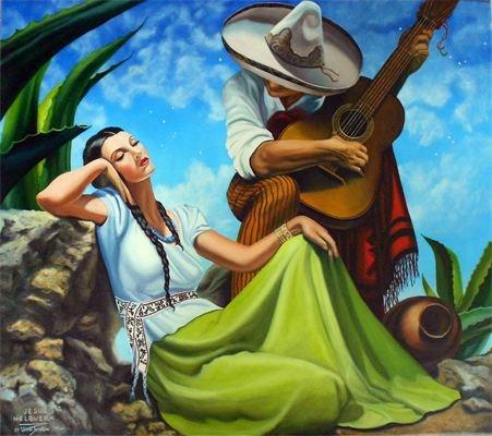 """""""Little by Little After Jesus Helguera"""" original fine art by Wendi Vann Johnson"""