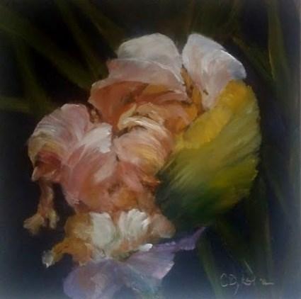 """Awakening"" original fine art by Cathy Dykstra"