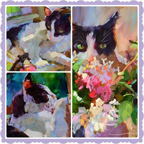"""""""The SERIOUS Artist: A Story of Sex, Cats and Couches"""" original fine art by Dreama Tolle Perry"""
