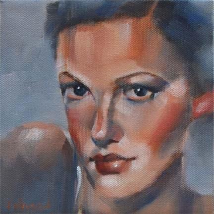 """Not Gene"" original fine art by Cheryl Wilson"