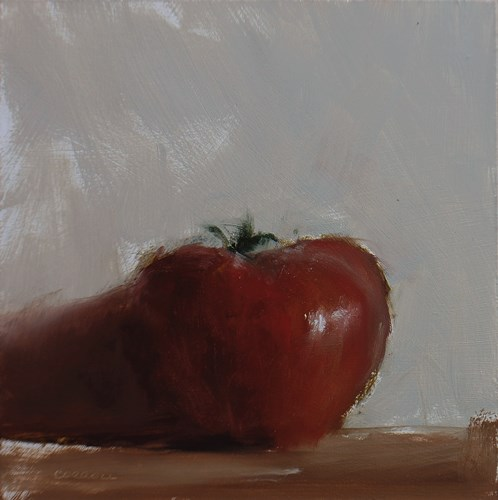 """Tomato"" original fine art by Neil Carroll"