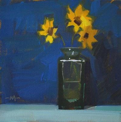 """""""Bright & Early"""" original fine art by Carol Marine"""