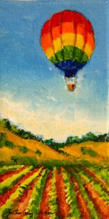 """Up, Up and Away"" original fine art by JoAnne Perez Robinson"