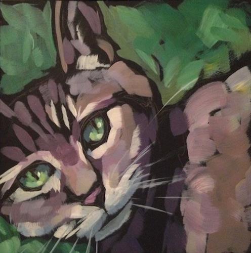 """March 6, Polly"" original fine art by Kat Corrigan"
