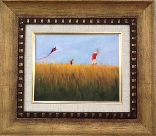 """Up, up and away"" original fine art by Linda Carney"