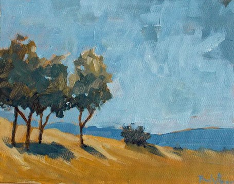 """Tree Together"" original fine art by Pamela Munger"